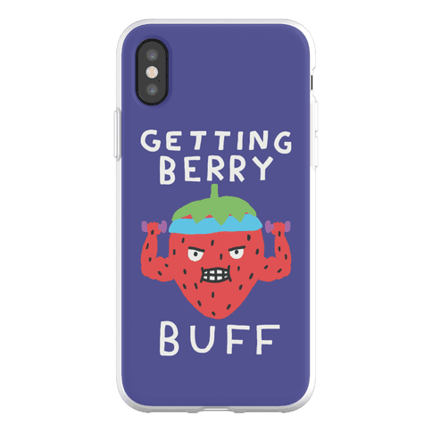 Getting Berry Buff Phone Flexi-Case