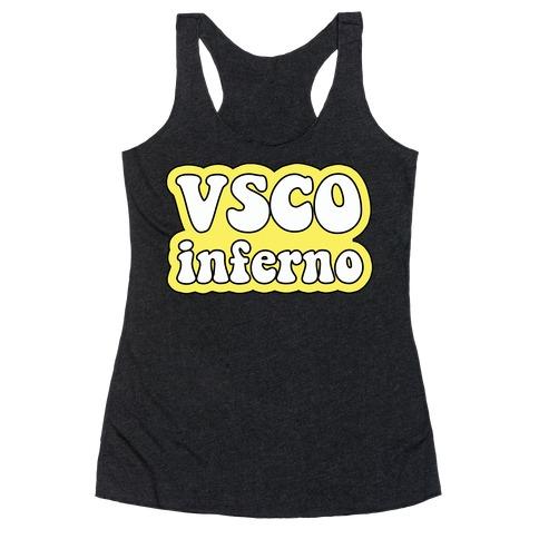VSCO Inferno Racerback Tank Top