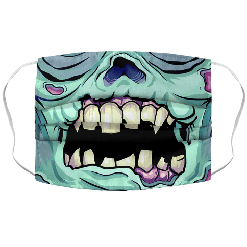 Zombie Mouth Face Mask Cover