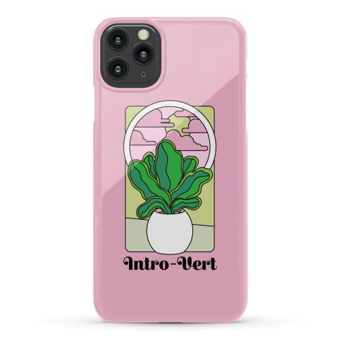 Intro-Vert  Phone Case