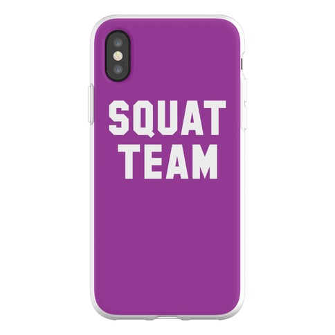Squat Team Phone Flexi-Case