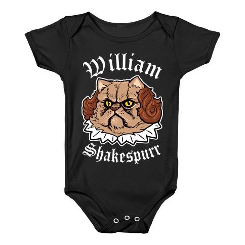 William Shakespurr Baby Onesy
