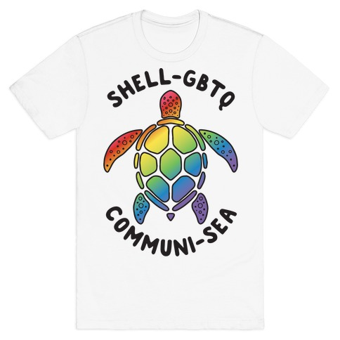 ShellGBTQ Communisea (LGBTQ Turtle) T-Shirt