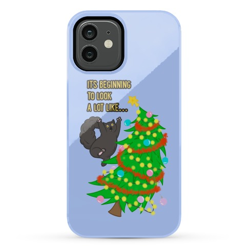 It's Beginning to Look a Lot Like... (chaos) Phone Case
