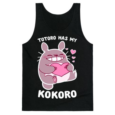 Totoro Has My Kokoro Tank Top