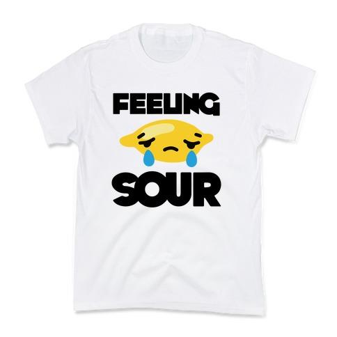 Feeling Sour Kids T-Shirt