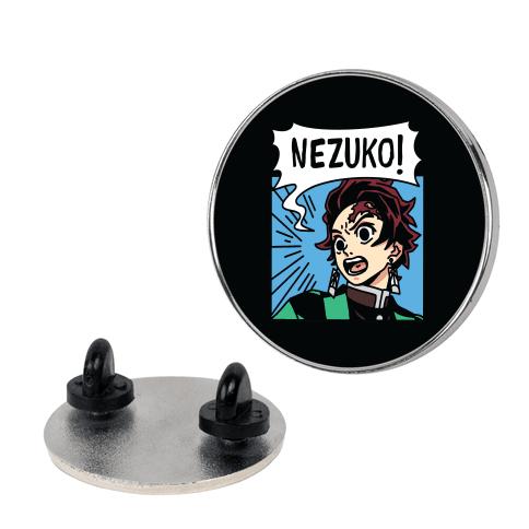 Tanjiro Screaming Nezuko (1 of 2 Pair) Pin