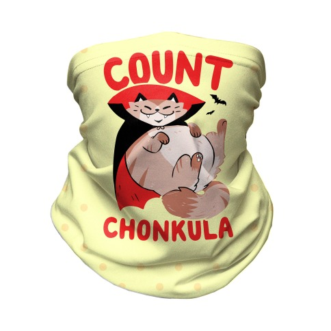 Count Chonkula Neck Gaiter