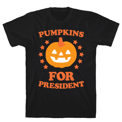 Pumpkins For President (White)