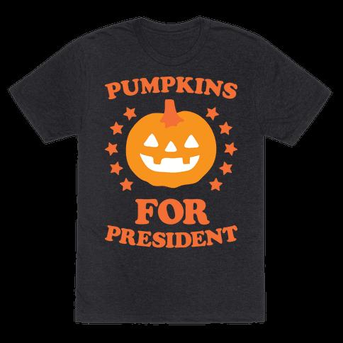 Pumpkins For President (White)