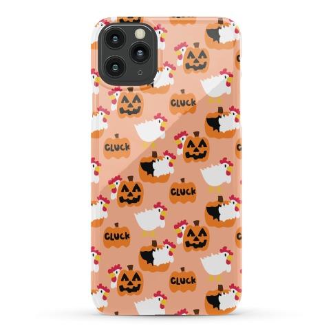 Clucky Pumpkin Pattern Phone Case
