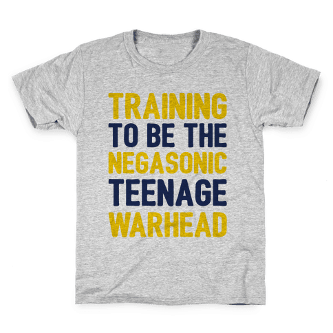 Training To Be The Negasonic Teenage Warhead  Kids T-Shirt