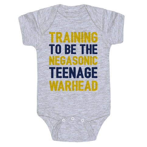 Training To Be The Negasonic Teenage Warhead  Baby Onesy