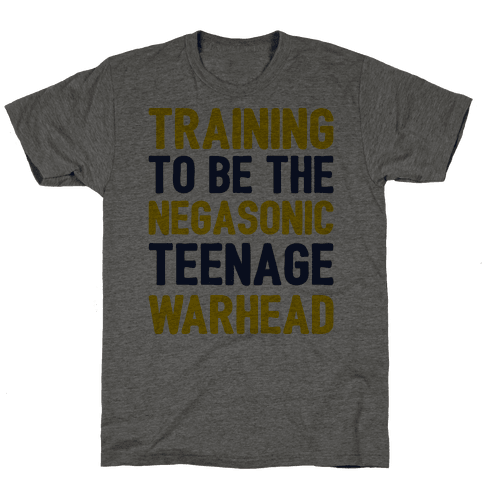 Training To Be The Negasonic Teenage Warhead  Mens T-Shirt