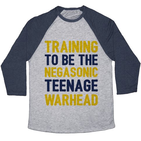 Training To Be The Negasonic Teenage Warhead  Baseball Tee