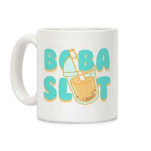 Boba Slut (blue) Coffee Mug