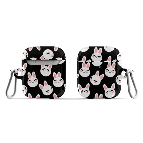 BunBun Pattern Black AirPod Case