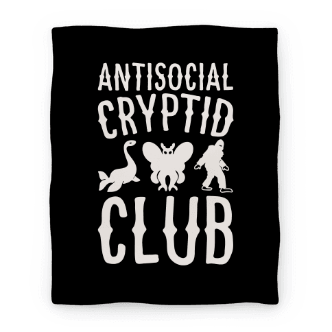 Antisocial Cryptid Club Blanket
