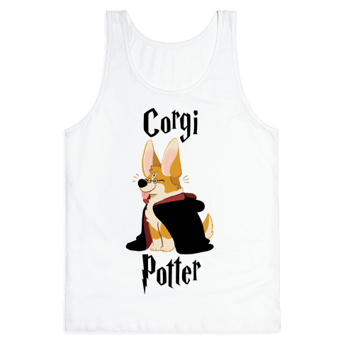 Corgi Potter Tank Top