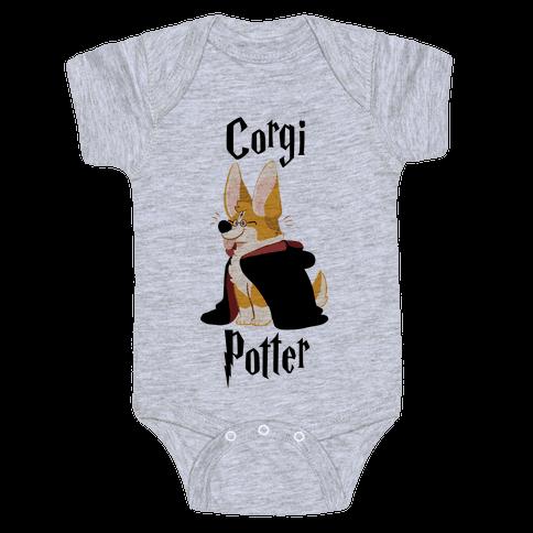 Corgi Potter Baby Onesy