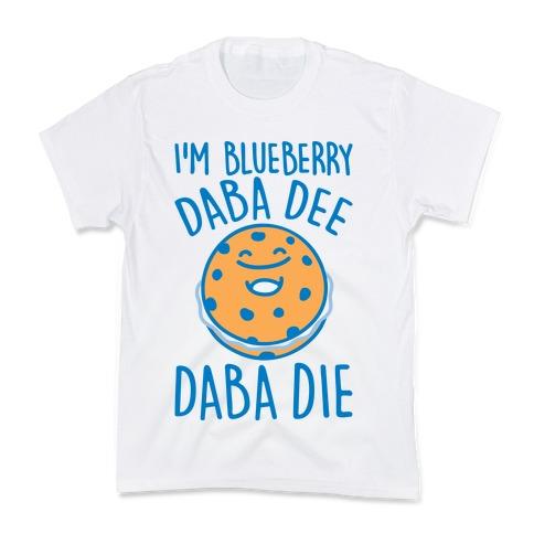 I'm Blueberry Da Ba Dee Parody Kids T-Shirt