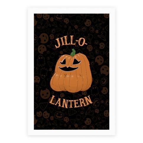 Jill-O-Lantern Poster