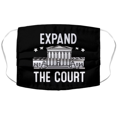Expand The Court Accordion Face Mask