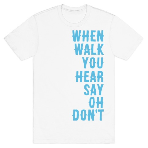 19da1f37ae Simple and Clean Lyrics (1 of 2 pair) T-Shirt