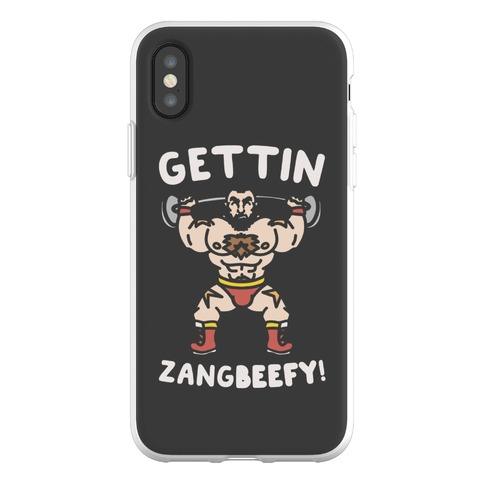 Gettin Zangbeefy Parody Phone Flexi-Case