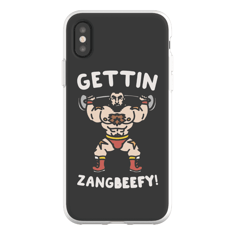 Gettin Zangbeefy Parody Phone Flexi-Case