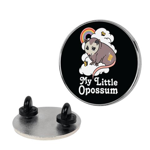 My Little Opossum Pin