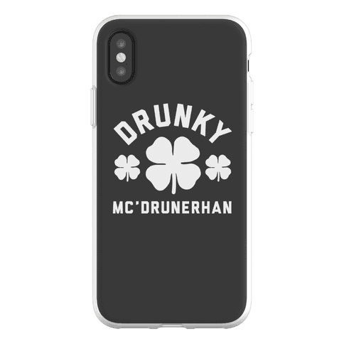 Drunky Mc'Drunkerhan Phone Flexi-Case