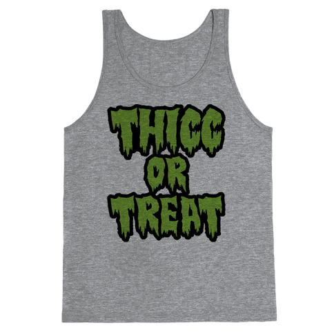 Thicc Or Treat Tank Top