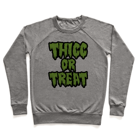 Thicc Or Treat Pullover