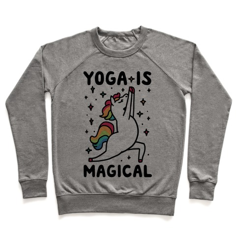 Yoga Is Magical Pullover