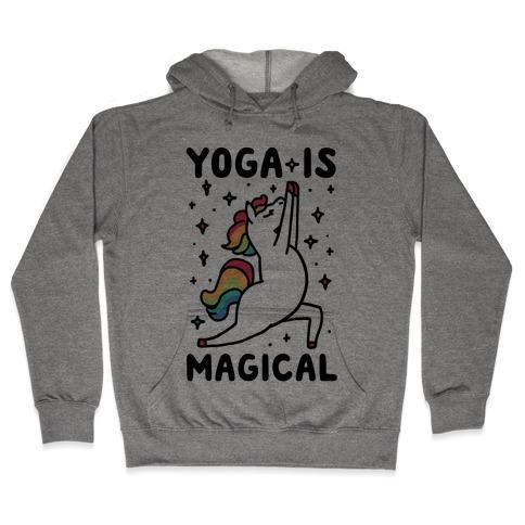 Yoga Is Magical Hooded Sweatshirt