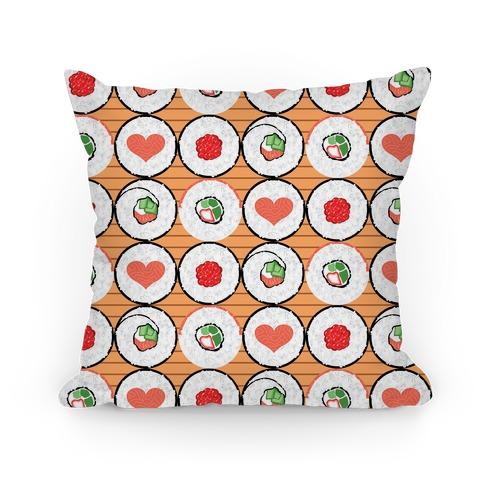 Maki Roll Pattern Pillow