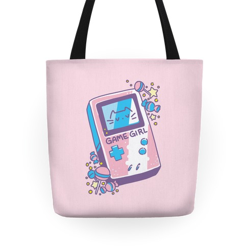 Game Girl - Trans Pride Tote