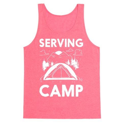 Serving CAMP Tank Top