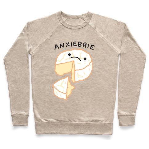 Anxie-brie Anxious Cheese Pullover