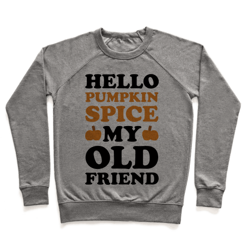 Hello Pumpkin My Old Friend Pullover