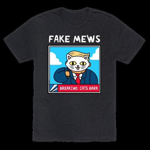 Fake Mews Mens T-Shirt
