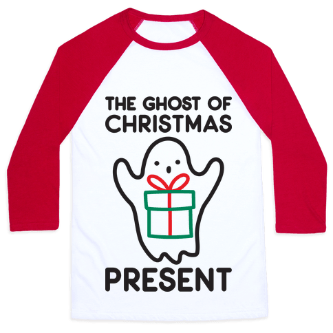 The Ghost of Christmas Present Baseball Tee