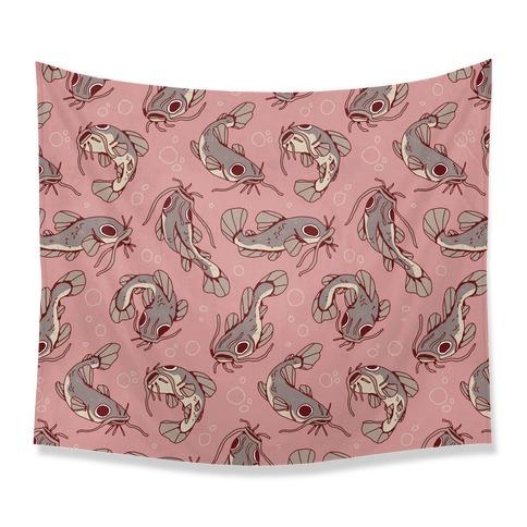 Catfish Pattern Tapestry