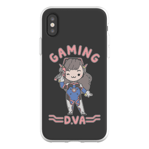 Gaming D.Va Phone Flexi-Case