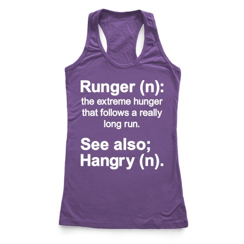 Runger Definition Racerback Tank Top