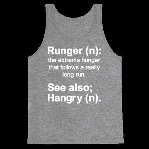 Runger Definition Tank Top