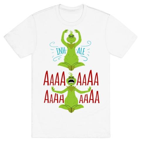 Grinch Yoga T-Shirt