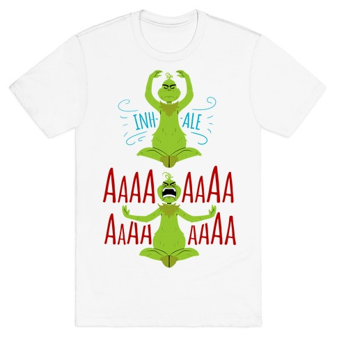 Grinch Yoga T-Shirt