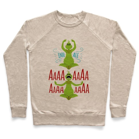 Grinch Yoga Pullover